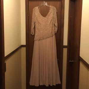 Mother of the Bride dress . Only worn once!